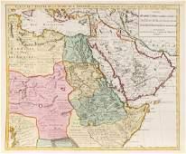 2207: Carte de l'Egypte de la Nubie de L'Abissinie, 173