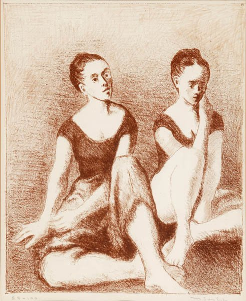 1: Isaac & Moses Soyer lithographs