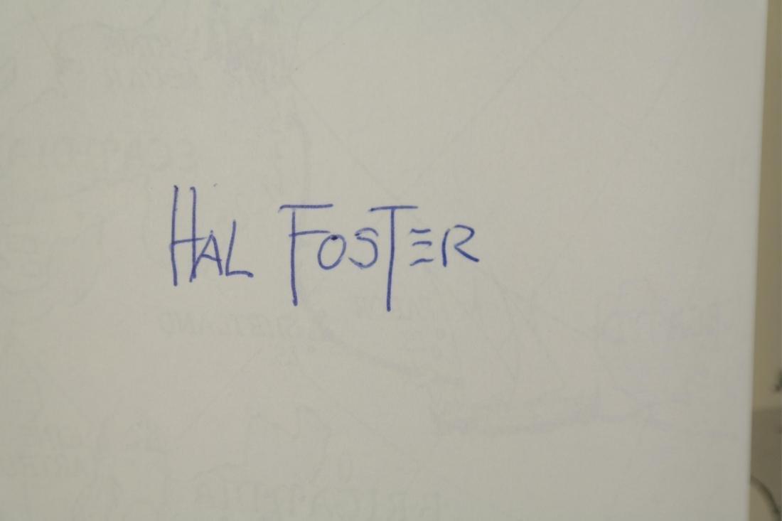 Prince Valiant. 6 vols. Hal Foster. 2 signed. - 10