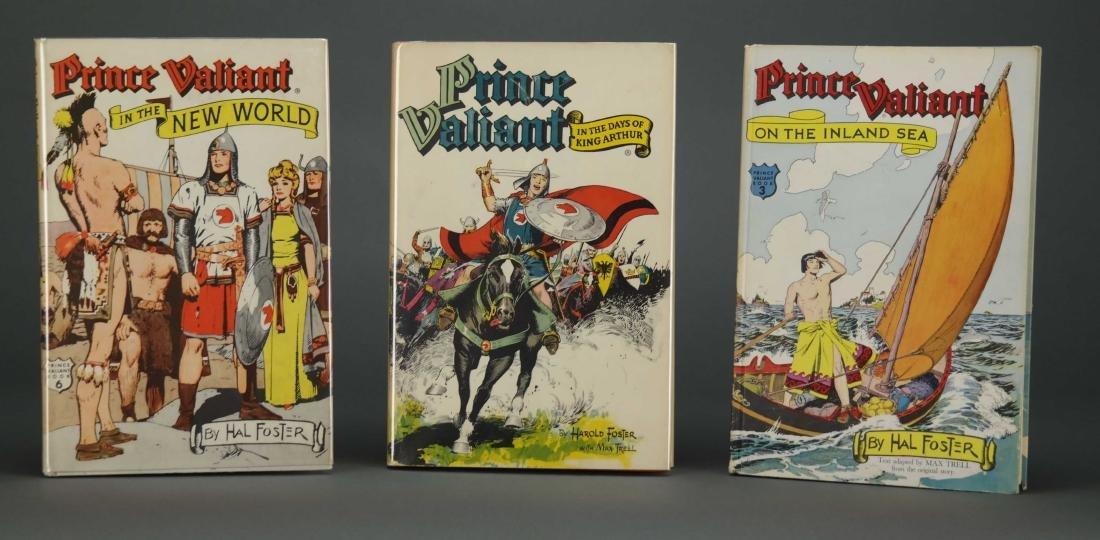 Prince Valiant. 6 vols. Hal Foster. 2 signed.