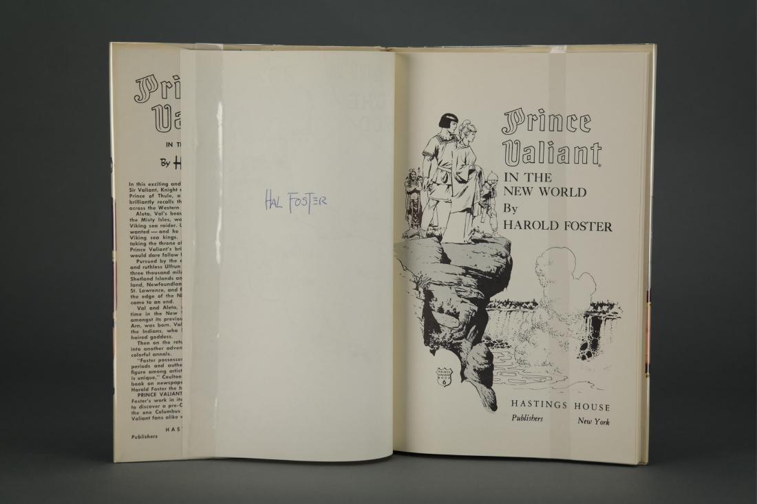 Prince Valiant. 6 vols. Hal Foster. 2 signed. - 9