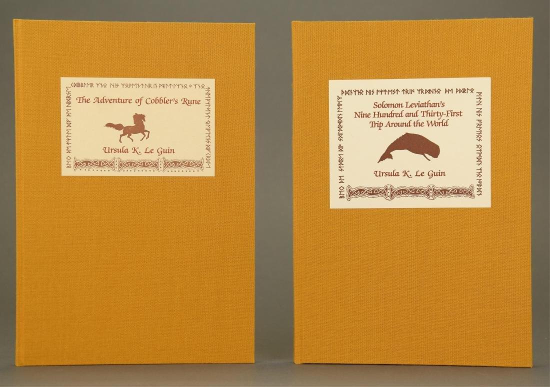 Le Guin. Adventures In Kroy. 2 Vols. 1/277 signed.