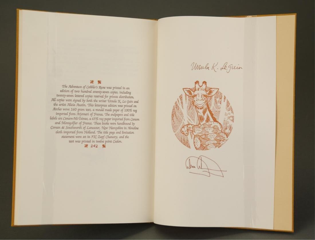 Le Guin. Adventures In Kroy. 2 Vols. 1/277 signed. - 5