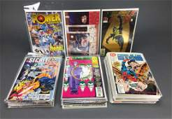Group of 63 Assorted DC Comics.