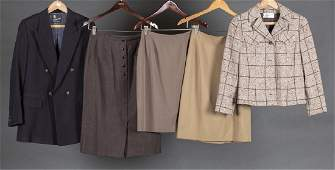 5 Wool Suit Jackets & Skirts.