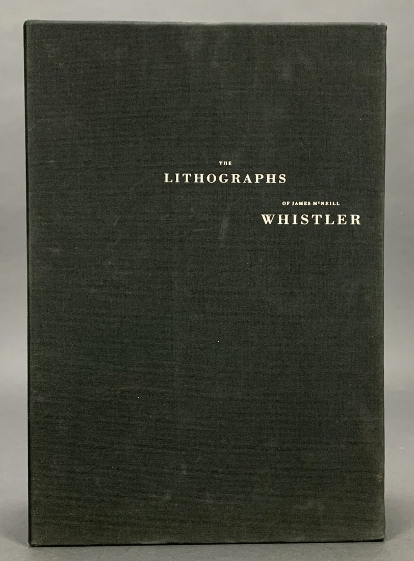 The Lithographs of James McNeill Whistler. 1998.