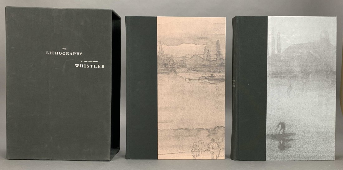 The Lithographs of James McNeill Whistler. 1998. - 2