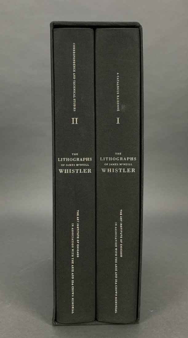 The Lithographs of James McNeill Whistler. 1998. - 3