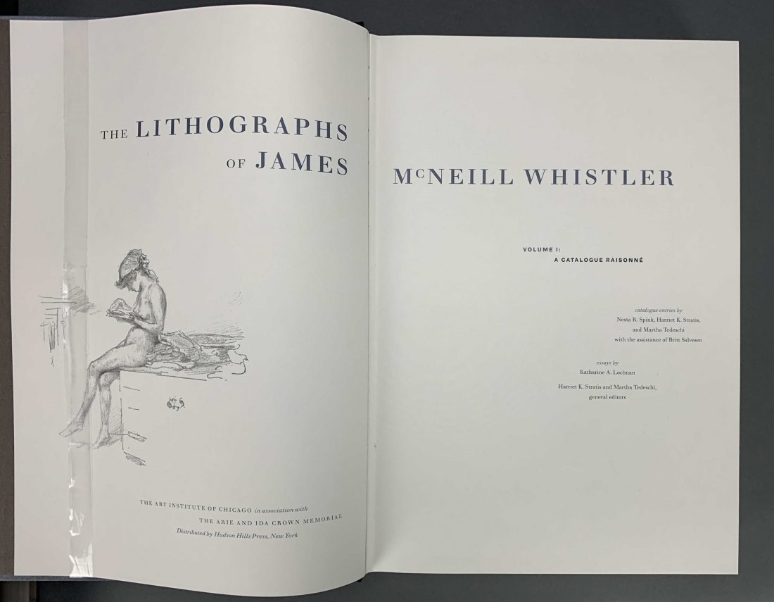 The Lithographs of James McNeill Whistler. 1998. - 4