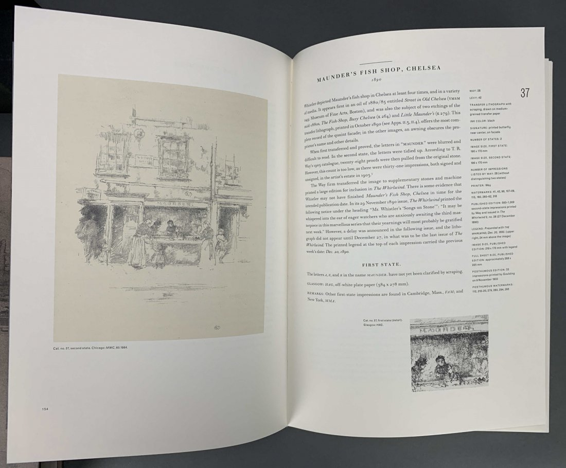 The Lithographs of James McNeill Whistler. 1998. - 6