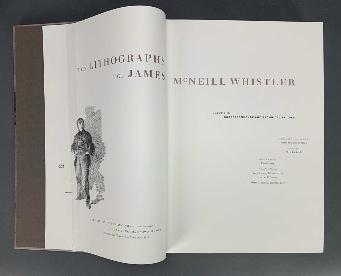 The Lithographs of James McNeill Whistler. 1998. - 7