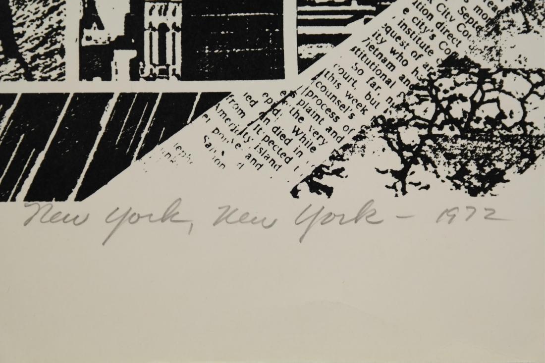 Roy Alghren. New York, New York. 1973. - 2