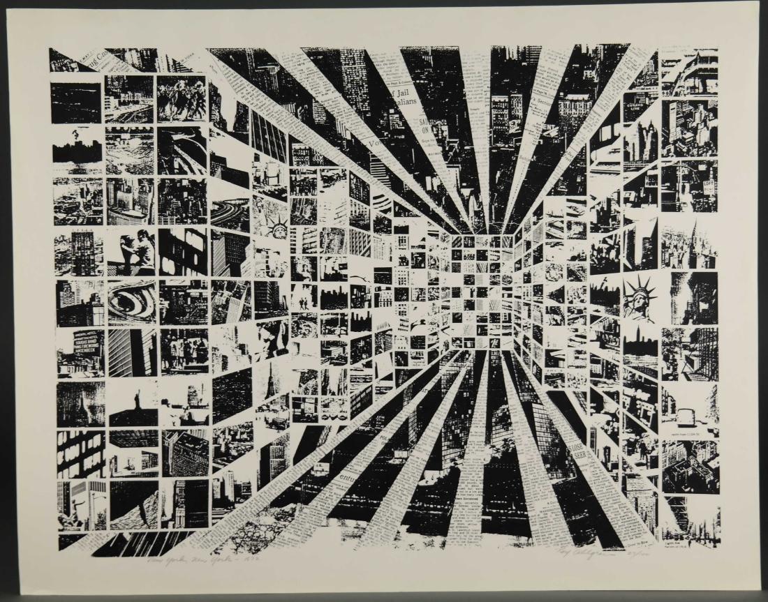 Roy Alghren. New York, New York. 1973. - 4