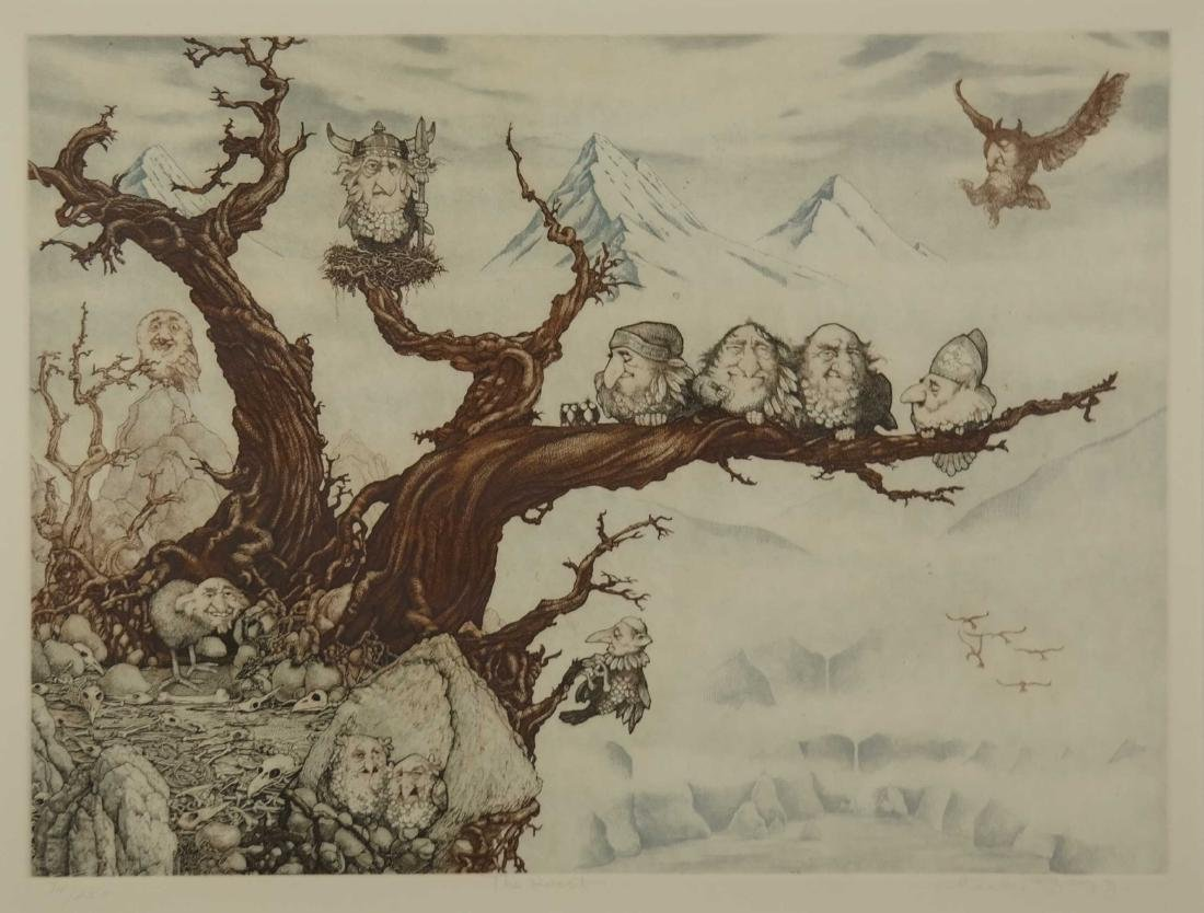 Charles Bragg. The Roost. 20th century.