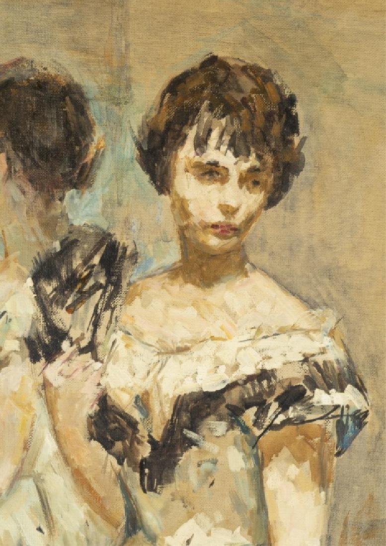 Thomas Strickland, Untitled Portrait, 20th c., O/C - 3