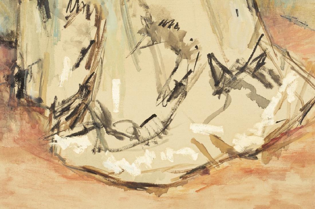 Thomas Strickland, Untitled Portrait, 20th c., O/C - 4