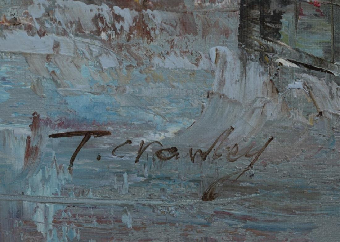 Timothy Crowley, Street View, 20th c., O/C. - 5