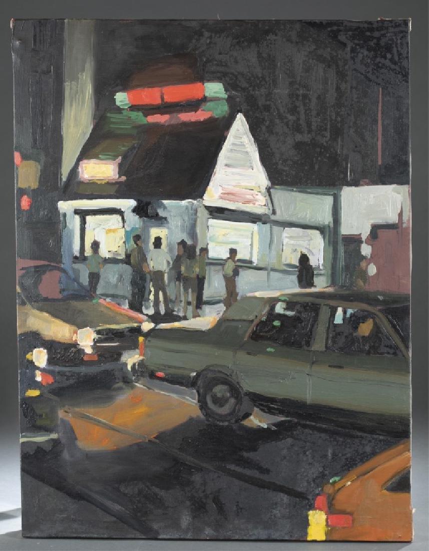Unknown, Street Scene, 20th/ 21st c., A/C.