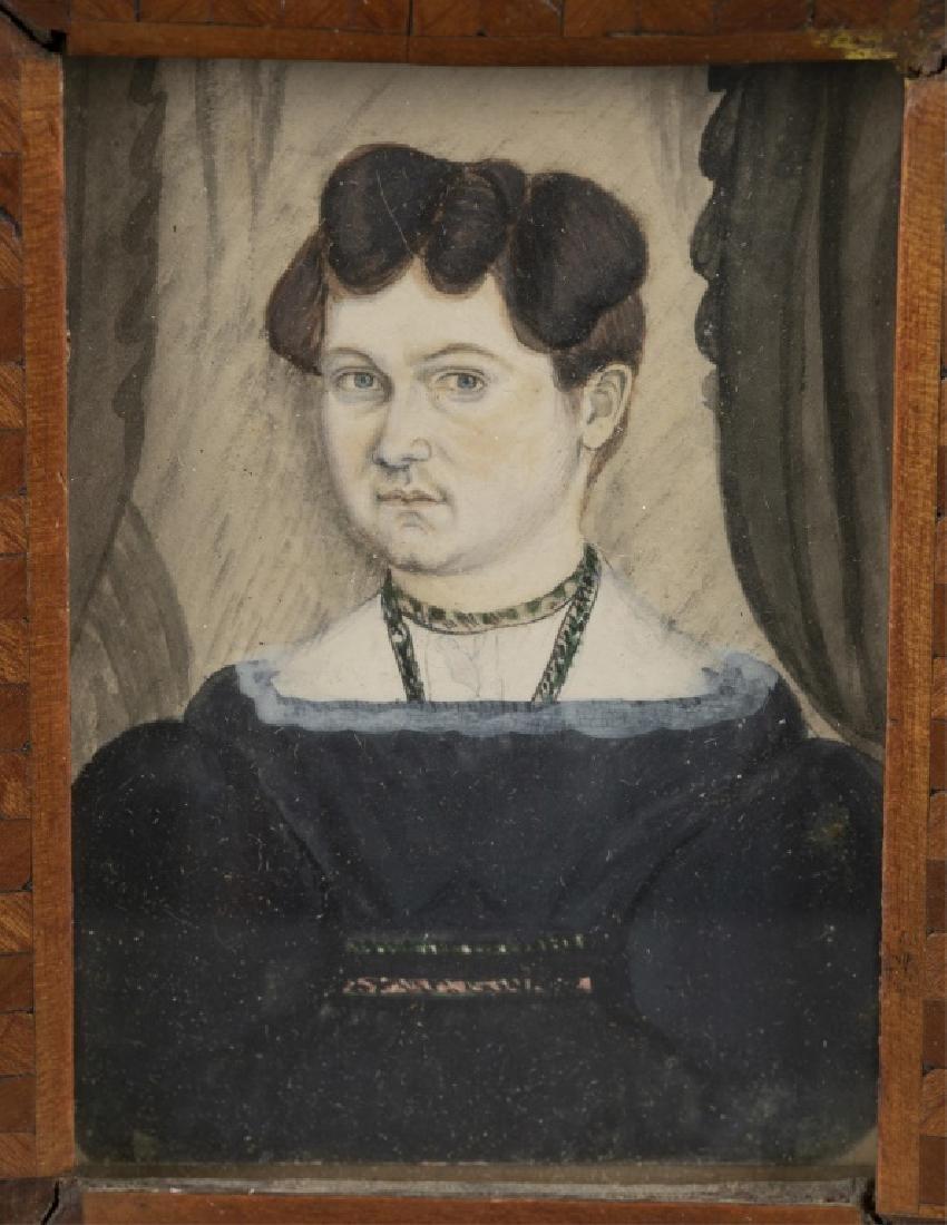 Portrait Miniature of a Woman, 19th c. - 2