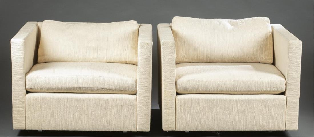 2 Charles Pfister for Knoll lounge chairs.
