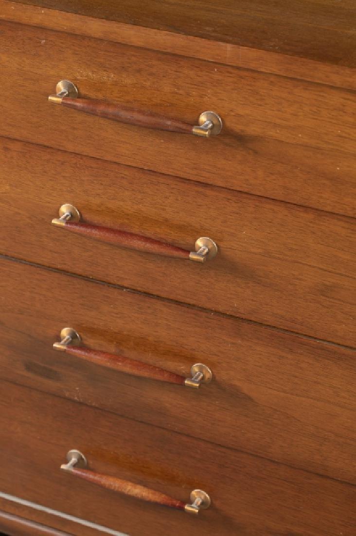 Danish Mid-Century Modern teak chest. - 3