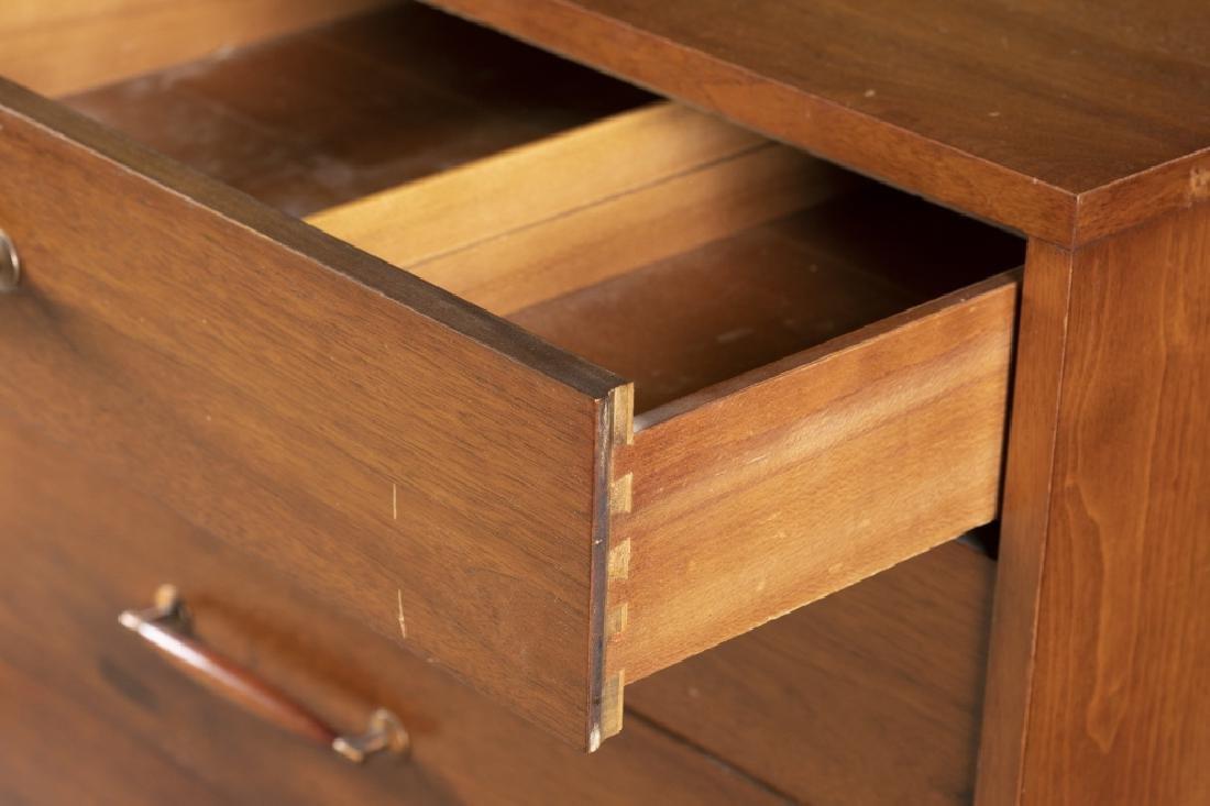 Danish Mid-Century Modern teak chest. - 4