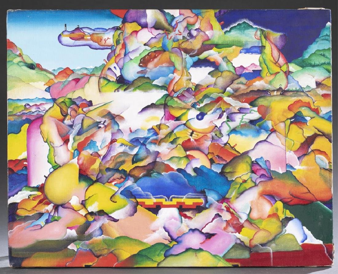 Bruce Rogers, Untitled, 20th/21st c., O/C