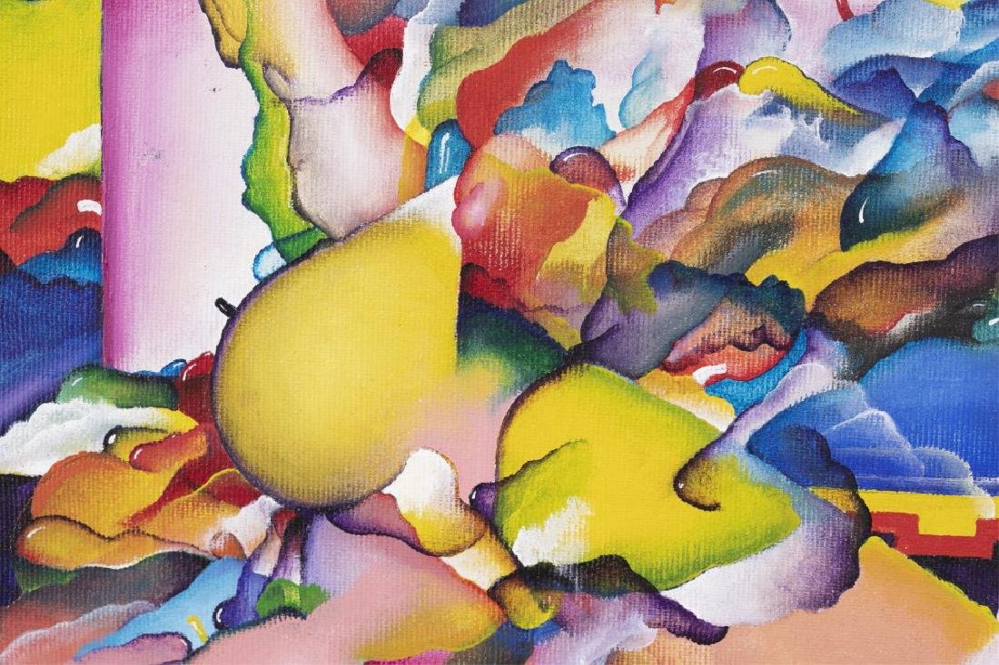 Bruce Rogers, Untitled, 20th/21st c., O/C - 4