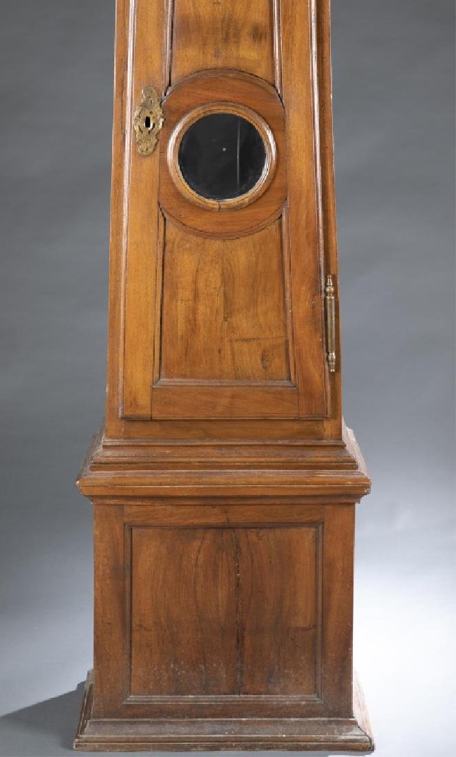 French Provincial Longcase Clock, 19th century. - 2