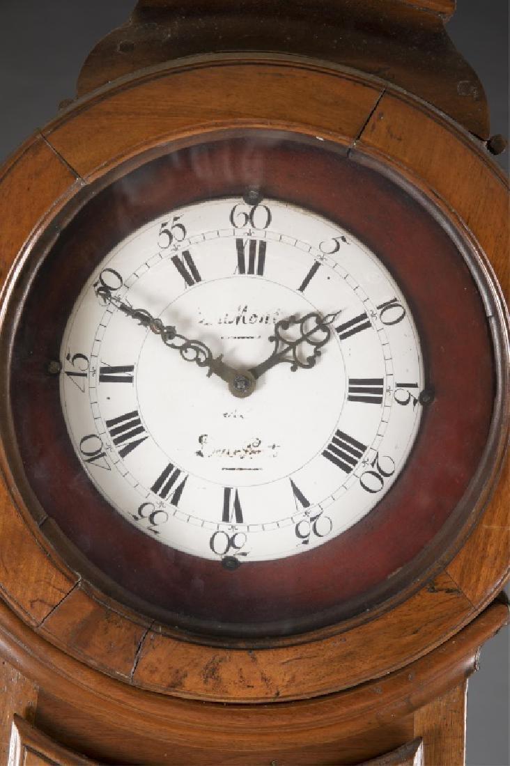 French Provincial Longcase Clock, 19th century. - 4
