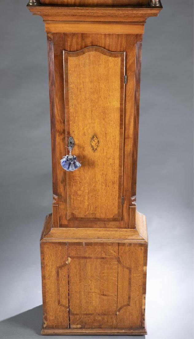 Marquetry Tall Case Clock, 19th century. - 3