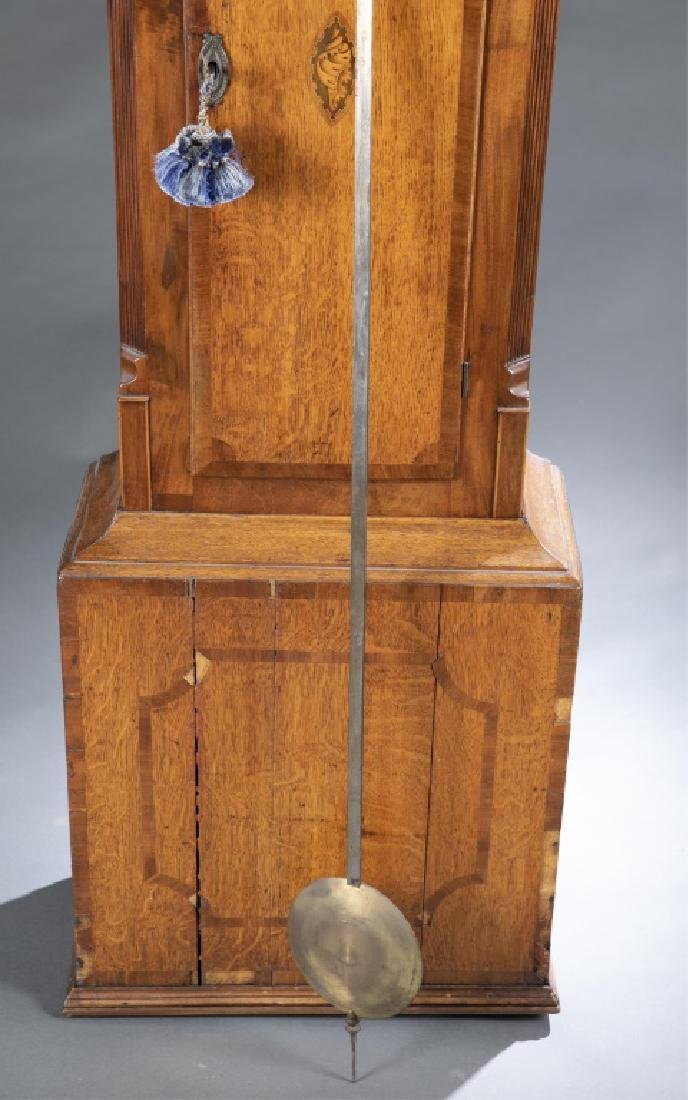 Marquetry Tall Case Clock, 19th century. - 9