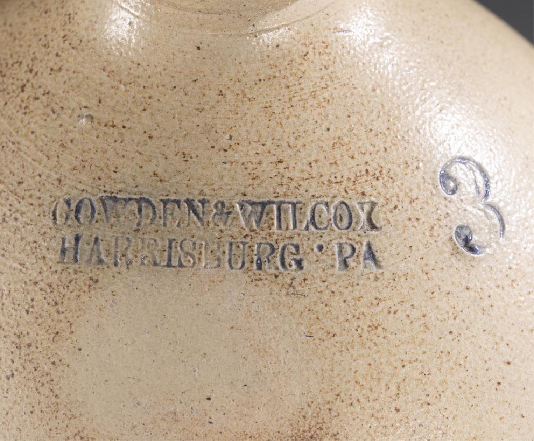 2 Stoneware Crock & Jug,19th century. - 4