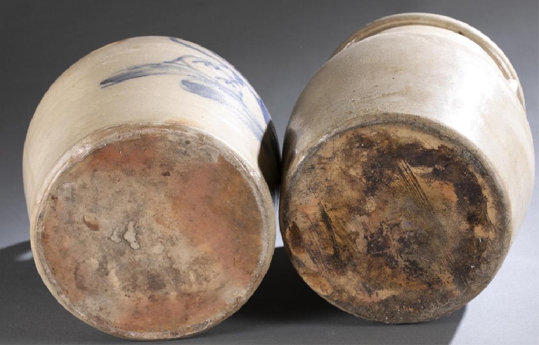 2 Stoneware Crock & Jug,19th century. - 8