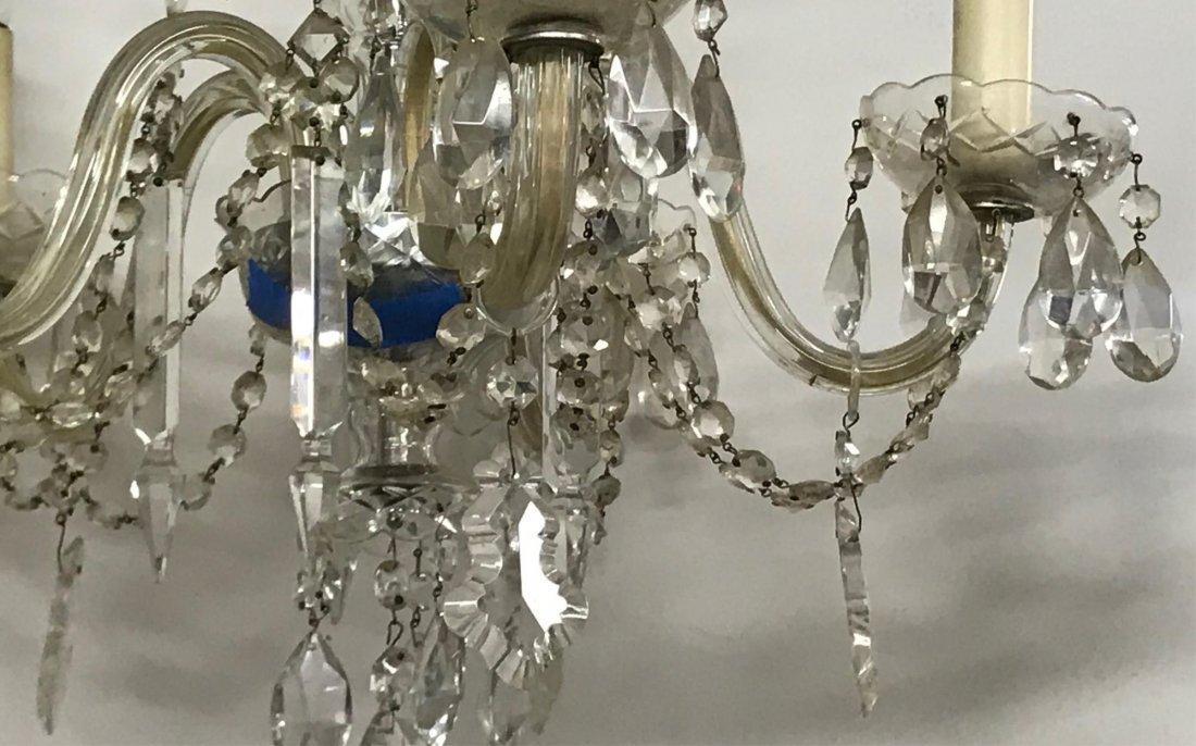 Cut Glass Chandelier, 19th/20th c. - 2