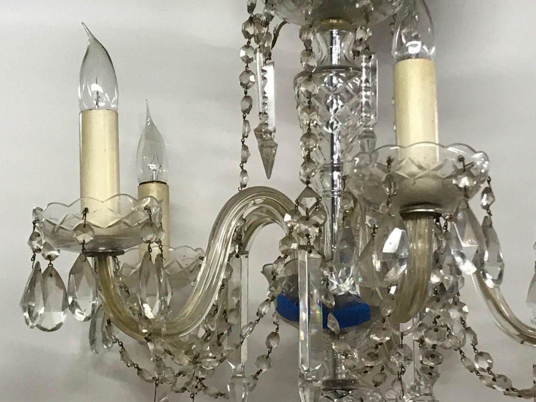 Cut Glass Chandelier, 19th/20th c. - 3
