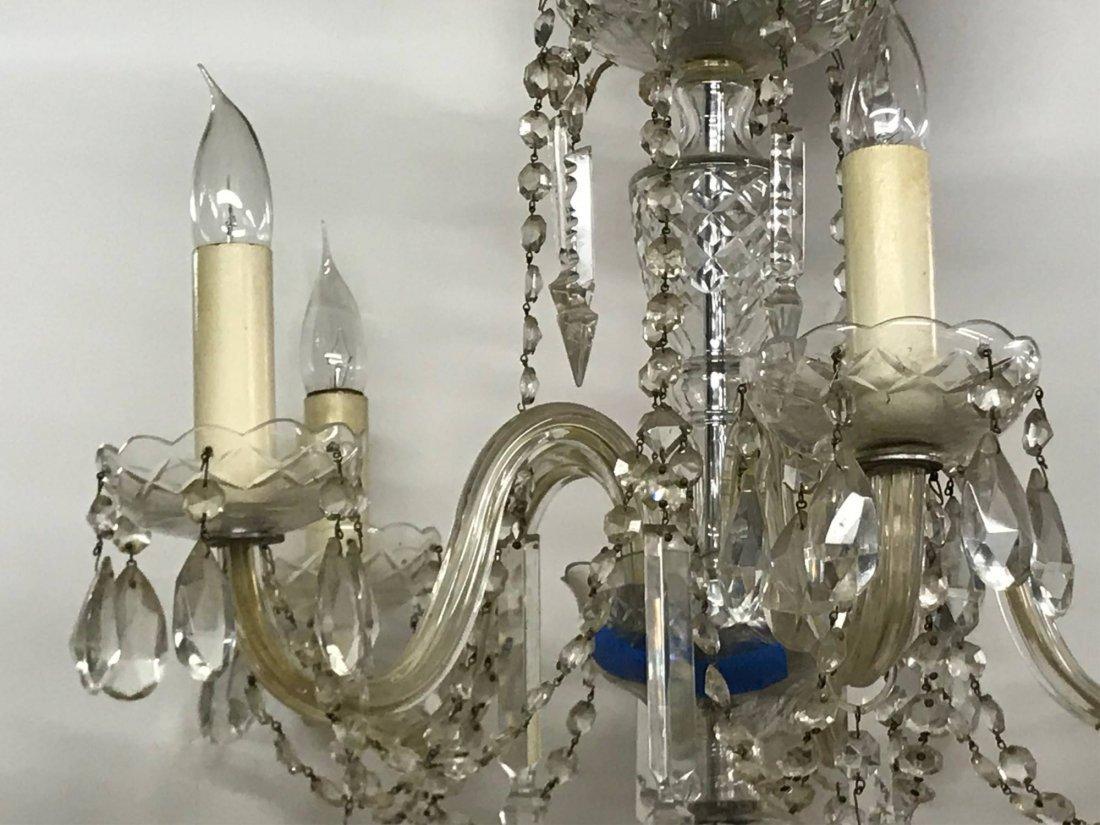 Cut Glass Chandelier, 19th/20th c. - 4