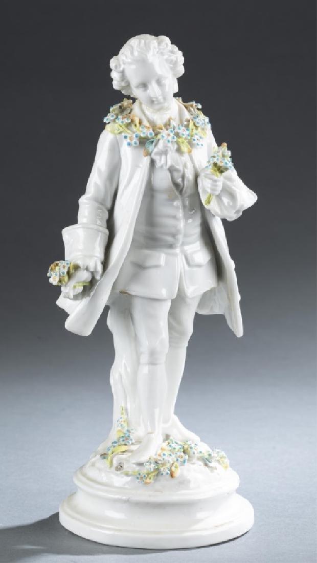 German bisque figurine, 19th century.