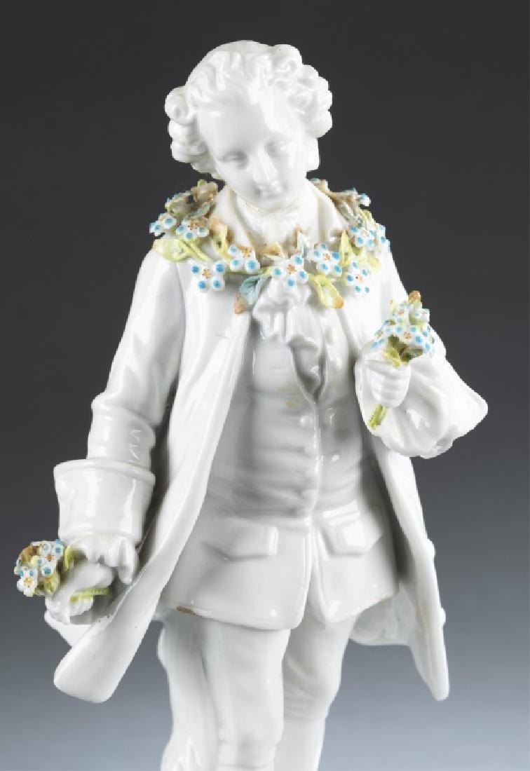 German bisque figurine, 19th century. - 2