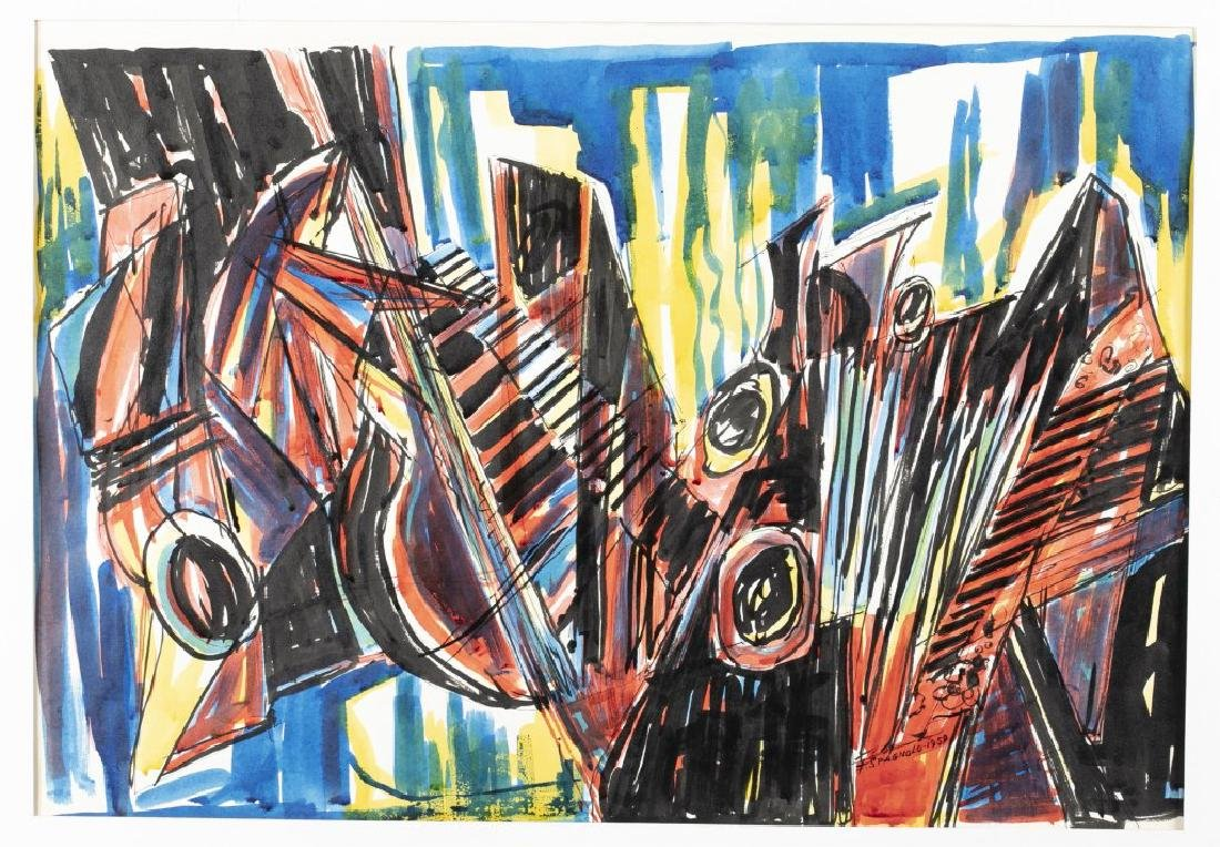 Frank Spagnolo, Cacophony, 1959.