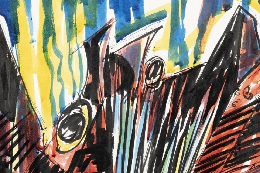 Frank Spagnolo, Cacophony, 1959. - 3