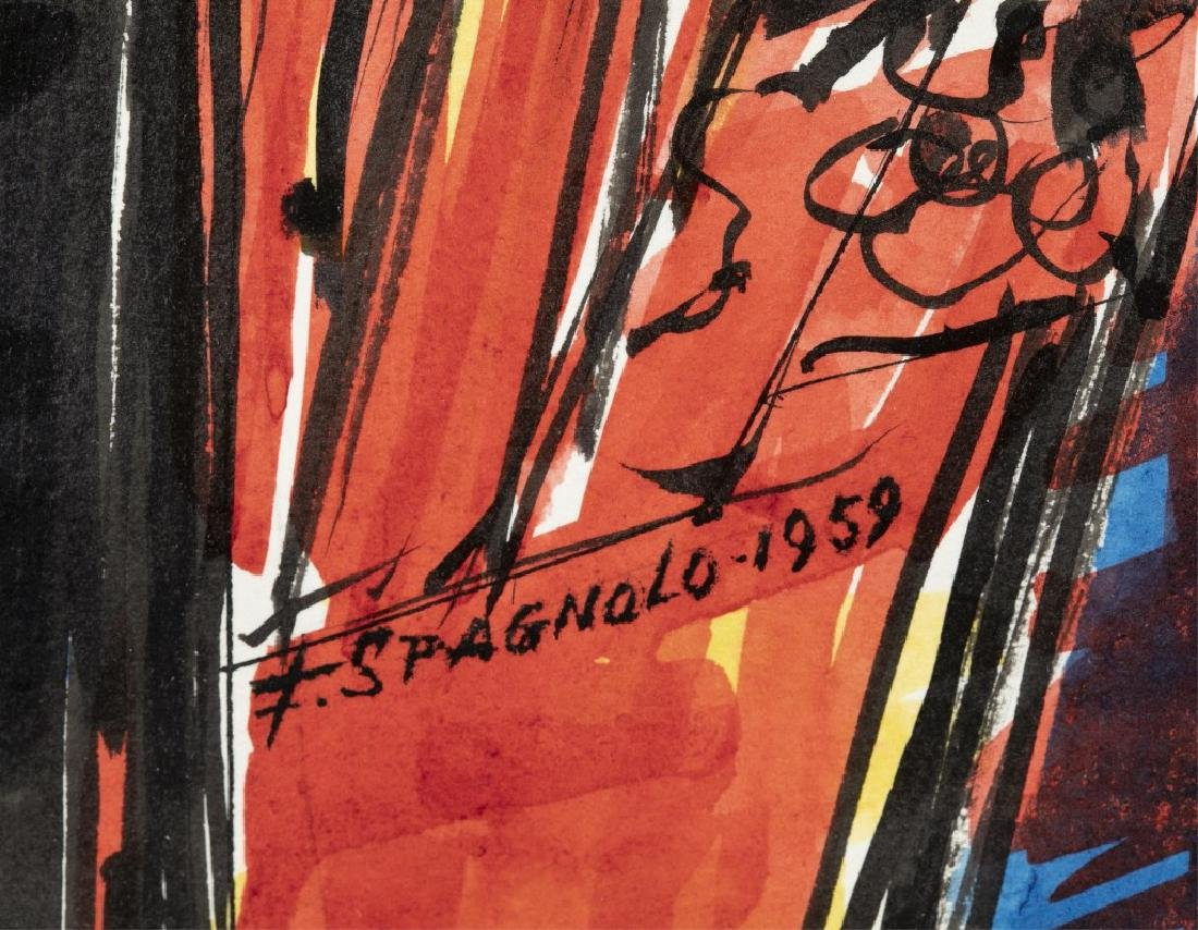 Frank Spagnolo, Cacophony, 1959. - 4