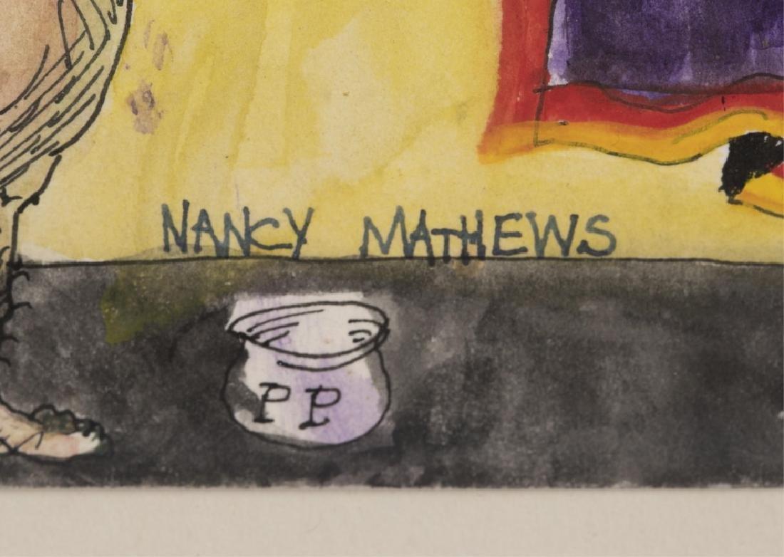 Nancy Mathews, Untitled, 20th/ 21st c., Watercolor - 6