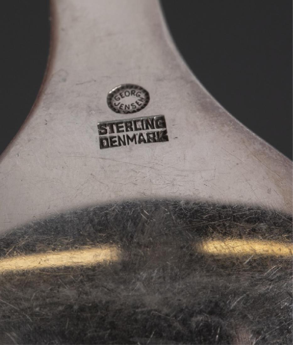 Georg Jensen Sterling Serving Pieces. - 7