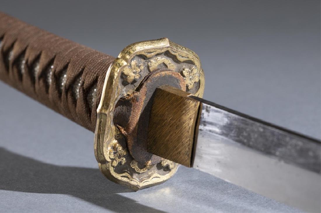 Japanese WWII Shin Gunto sword. - 10