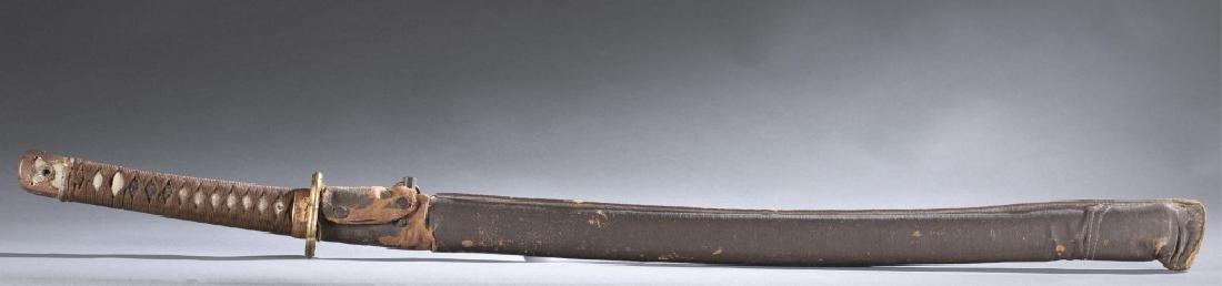 Japanese WWII Shin Gunto sword.