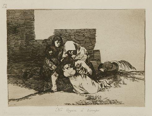 4: Goya. De que sirve una taza? Etching.