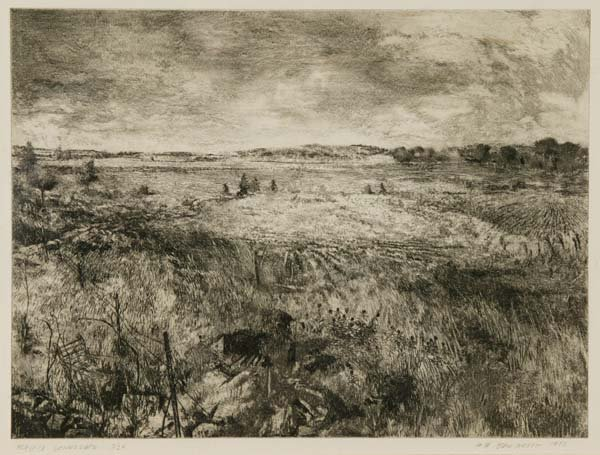 16: 3 etchings by Tom Edwards.