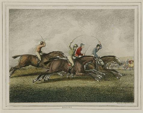 17: 4 engravings (2 hand-colored): Howitt, Coooper...
