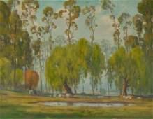 123 Randolph Coats attrib California landscape